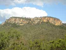Cliffs at Cania Gorge
